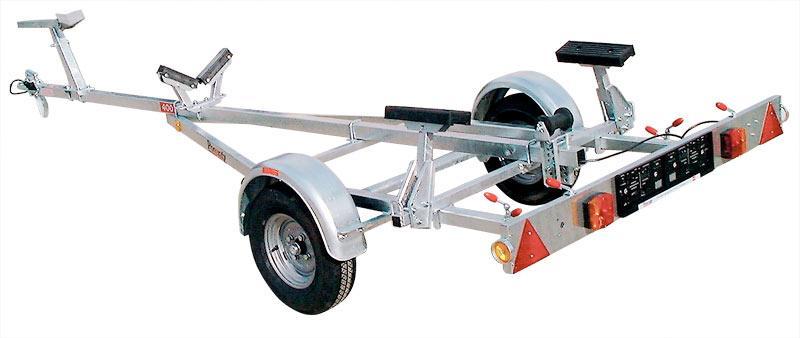 Pongratz Motorbootrailer 300 - 750 kg ungebremst