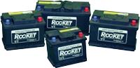 Starterbatterie Rocket